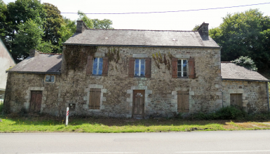 Maison en pierre à rénover 189m2 BRETAGNE