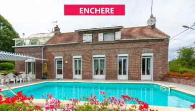 Maison ancienne Pays d'Othes avec piscine