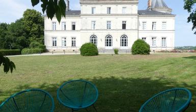 Appartement dans un château avec terrasse et jardin